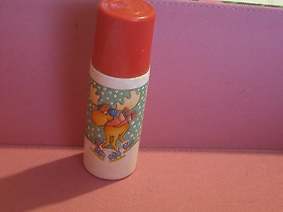 Vintage Avon Winter Frolic Roll-A-Soap Very Berry Red