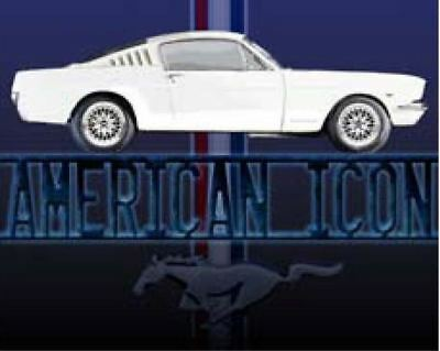 Ford Mustang American Icon 1965 1966 Metal Sign