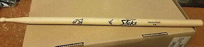 lamb of god SIGNED Drum Stick Autographed by band Chris Adler Randy Blythe