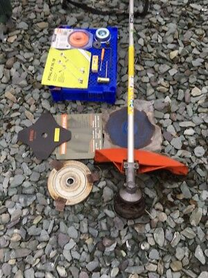 STIHL Petrol Strimmer With Manual And Accessories