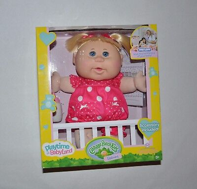 Cabbage Patch Kids Playtime Babies Doll Rubie Piper, New