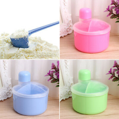 Portable Baby Milk Powder Formula Dispenser Mini Storage Container Feeding Box