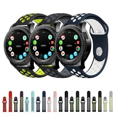 Soft Sports Silicone Bracelet Strap Band For Samsung Gear S3 Classic / Frontier