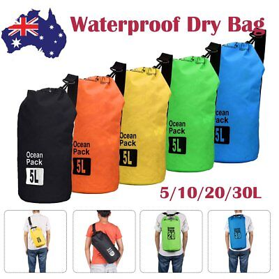 5/10/20/30 L Waterproof Dry Bag Easy Carry for Canoeing/Fishing/Sailing/Camping