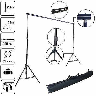 DynaSun K903 220x300cm Background Backdrop Support Studio Telescopic System