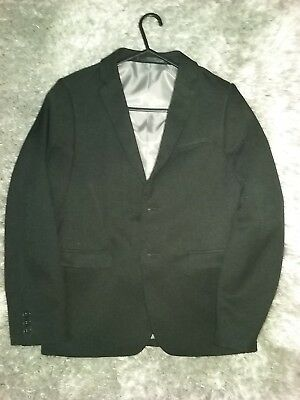 Boys black  formal wear dinner jacket age 10-11 excellent condition matalan