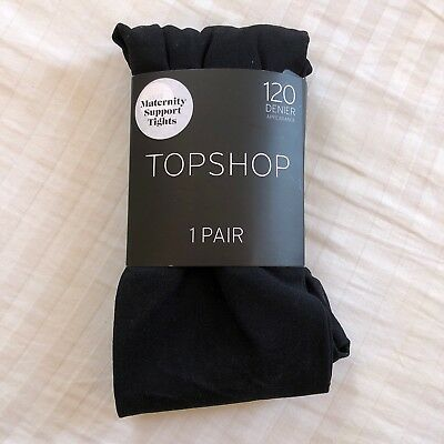 Topshop Maternity Tights Size S/M
