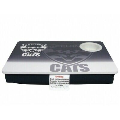 Geelong Cats Official AFL Lap Stable Computer Table Cup Holder