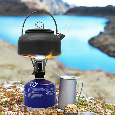 Portable Stove Jet Cooker Camping Stove with Single Burner Carrying Case Outdoor