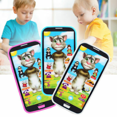 HOT Kids Baby Simulator Music Phone Touch Screen Educational Learning Toy Gift #