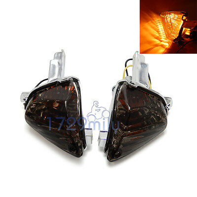 For 08 09 SUZUKI GSXR600 750 K8 Indicator Turn Signal Light Bulb Smoke Lens