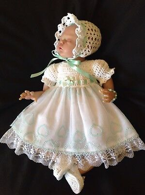 """Gorgeous Embroidered Tulle Dress Set - 17 - 18"""" Reborn"""