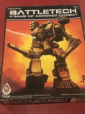 Battletech A Game Of Armored Combat Armoured Fasa 1604 Second Edition Complete