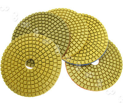 "11 x 4"" Diamond Polishing Pads Grinding Disc For Granite Marble Concrete Stone"