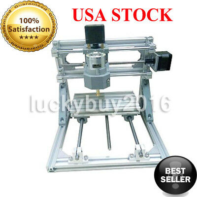 Mini 3-Axis CNC Router Engraver DIY Carving Machine for PCB PVC Milling Wood