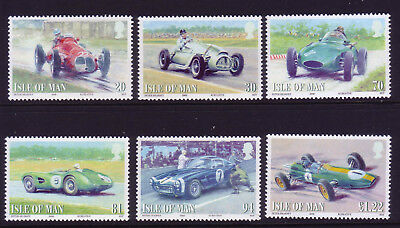 2008 Isle of Man. British Motor Racing SG1435/40 MNH
