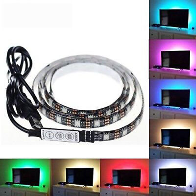 Striscia Rgb 5050 Smd Led Strip Tv Usb 1 2 5 Mt Ip20 Interno Strip Luce Casa