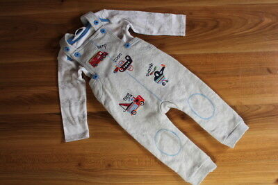 M&Co boys dungarees top outfit 6-9 months NEW *I'll combine postage