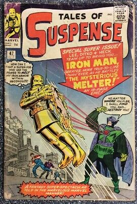 Tales Of Suspense #47 (1963) 1st Appearance Of The Melter