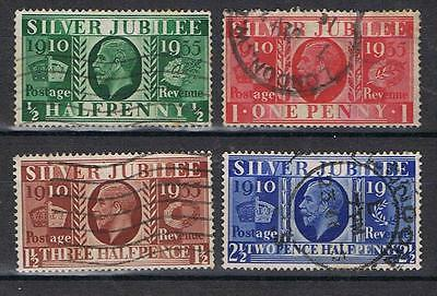 Great Britain GB 1935 King George V Silver Jubilee set Used