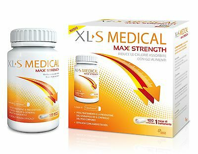 XLS MEDICAL MAX STRENGTH 120 CPS CAPSULE COMPRESSE INTEGRATORE ITALIANO sc. 2019