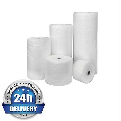 LARGE ROLLS OF SMALL BUBBLE WRAP - CHOOSE LENGTH AND WIDTH (300mm, 500mm, 750mm)