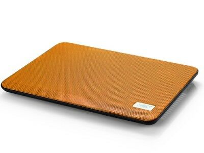 """NEW DEEPCOOL N17 ORANGE NOTEBOOK COOLER WITH 140MM FAN (FOR NBS UP TO 14"""")..j."""