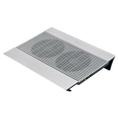 NEW NB-N8 DEEPCOOL NOTEBOOK COOLER PAD UP TO 15.6' ALUMINIUM WITH DUAL 140M.j.