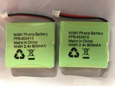 Pack of 2 x Brand New Replacement iDECT S2i Phone Batteries 2.4V 600mAh NiMH UK!