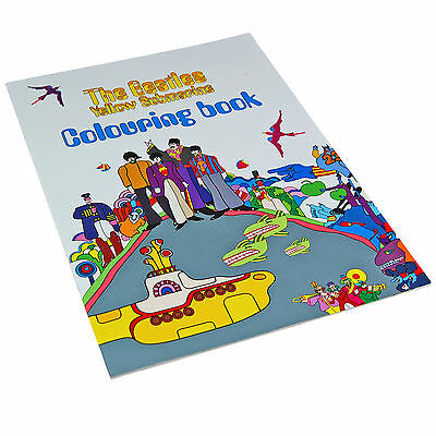 Beatles Yellow Submarine Adult Colouring Book. Gift For Him Her Music Fan