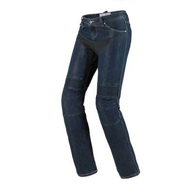 Spidi Furious Lady Denim Jeans - Casual Motorcycle Motorbike Riding Jeans