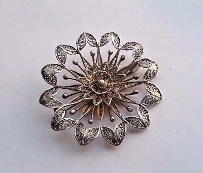 Imperial Russia Brooch workmaster Faberge 19th century