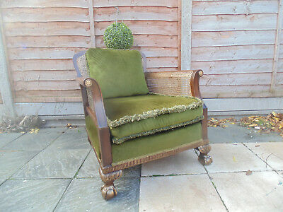 Antique Bergere Low  Chair 1910-1920s
