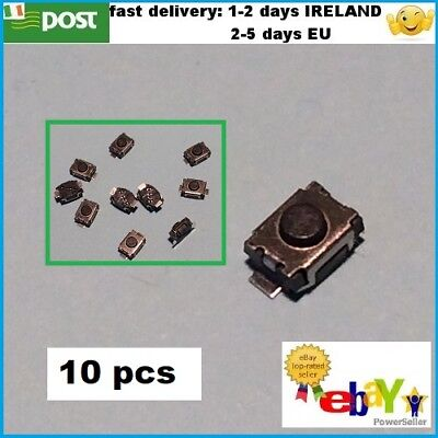 10 pcs 3X4X2mm Tactile Push Button Switch Tact Switch Micro Switch 2-Pin SMD
