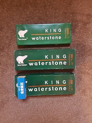 king whetstone set 800 1200 6000