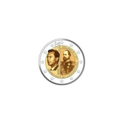2 euros commemoratives Luxembourg 2017 dispo immediatement