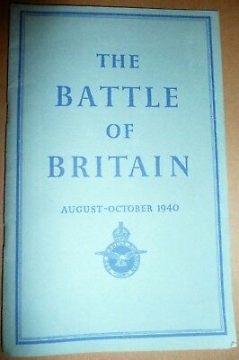 The Battle of Britain August-October 1940: WW2 Air Ministry p/b + news clippings