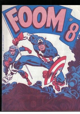 Foom No 8 Winter 1974 Captain America Cover Fanzine