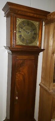 WELSH LONGCASE GRANDFATHER CLOCK BY Charles Vaughn Pontypool Birdcage movement