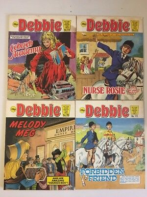 Debbie Vintage Picture Story Library For Girls 113, 114, 115 & 116