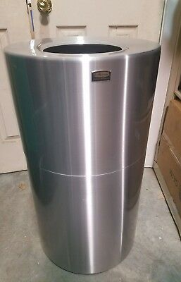 Rubbermaid Commercial Products 2 Piece Receptacle 35 Gal Trash Can FGAOT35SAPL