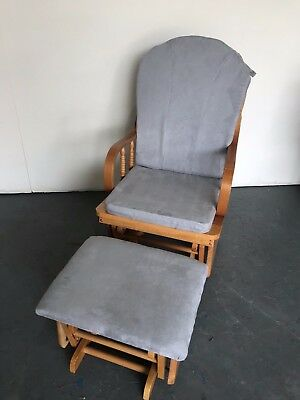 Rocking Chair With New Cover Cushions