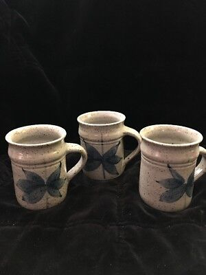 Welsh Tea Cups Llanarth Studio Hand Made Salt Fired Pottery Tea Cups