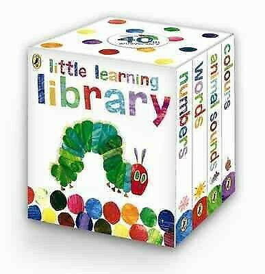 Very Hungry Caterpillar: Little Learning Library, Hardcover by Carle, Eric, B...