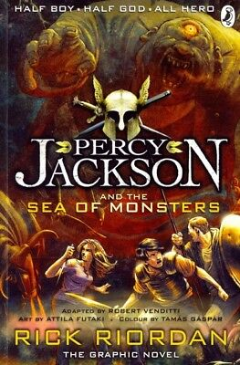 Percy Jackson and the Sea of Monsters: the Graphic Novel (Book 2), Paperback ...