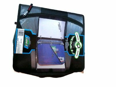 """Case it The Dual 2 in 1 Dual Ring Binder 4"""" Capacity"""