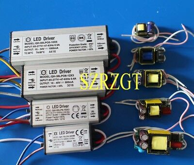 Constant Current LED Driver 1W 3W 5W 10W 20W 30W 50W 100W LED Power Supply