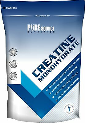 100% Pure Creatine Monohydrate Powder 100g | 250g | 500g | 1kg Muscle Strength