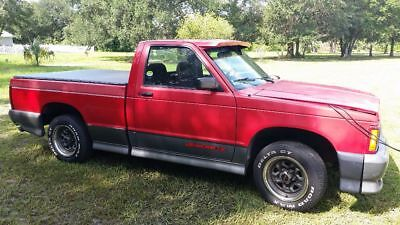 1992 GMC Sonoma GT 1992 GMC Sonoma GT 1 of 180 in Red