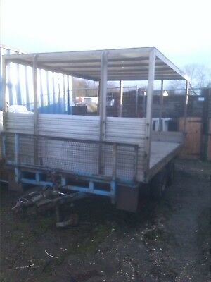 Ifor Williams Trailer Flat Bed 6Ft 6 X 12Ft (Top Not Included)
